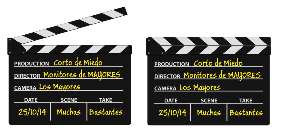 Claqueta de Cine Corto 2014